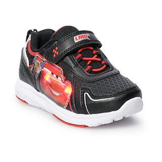Disney Pixar Cars Toddler Boys Light Up Shoes