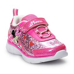 Disney's Minnie Mouse Toddler Girls' Light Up Sneakers