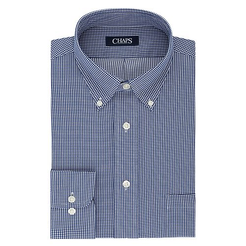 Big & Tall Chaps Regular-Fit Stretch-Collar Dress Shirt