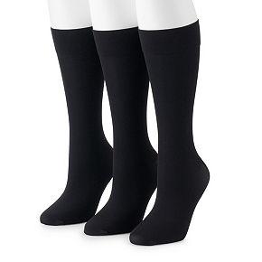 Women's GOLDTOE® 3-Pack Trouser Dress Socks