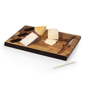 Picnic Time Miami Hurricanes Delio Cheese Cutting Board Set