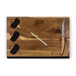 Picnic Time Purdue Boilermakers Delio Cheese Cutting Board Set