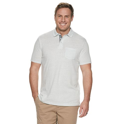 Big & Tall SONOMA Goods for Life™ Supersoft Pocket Polo