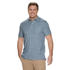 Big & Tall SONOMA Goods for Life™ Modern-Fit Slubbed Henley