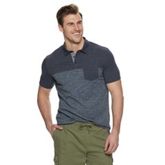 Big & Tall SONOMA Goods for Life™ Supersoft Colorblock Pocket Polo