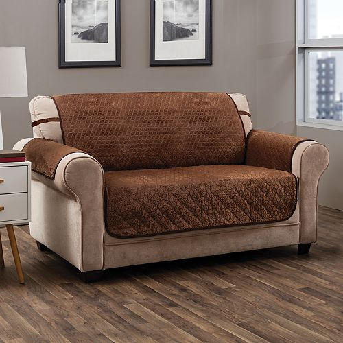 Jeffrey Home Prism Secure Fit Sofa Slipcover