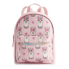 OMG Accessories Llama Unicorn Mini Backpack