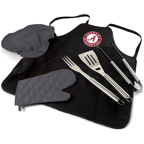 Picnic Time Alabama Crimson Tide BBQ Apron Pro Grill Set