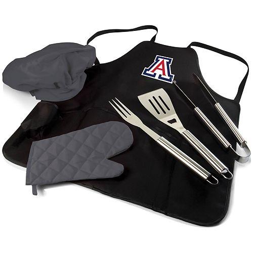 Picnic Time Arizona Wildcats BBQ Apron Pro Grill Set