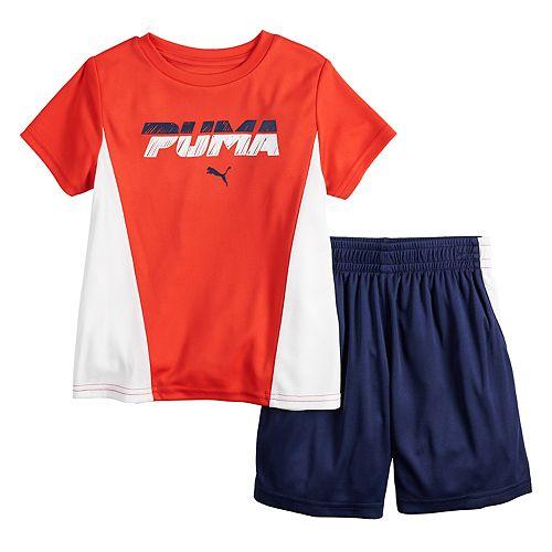 Boys 4-7 PUMA Performance Top & Shorts Set