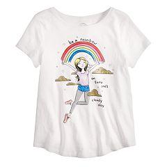 8b3f57b9 Girls 7-16 & Plus Size SO® Graphic Tee. Rainbow ...