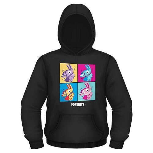 Men's Fortnite Llama Grid Pullover Hoodie
