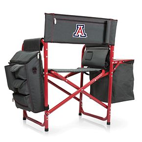 Picnic Time Arizona Wildcats Fusion Backpack Chair with Cooler