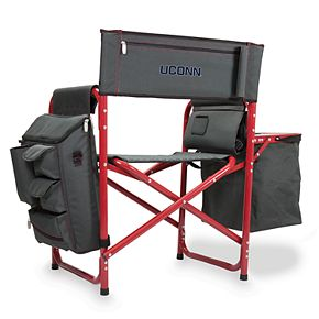 Picnic Time UConn Huskies Fusion Backpack Chair with Cooler