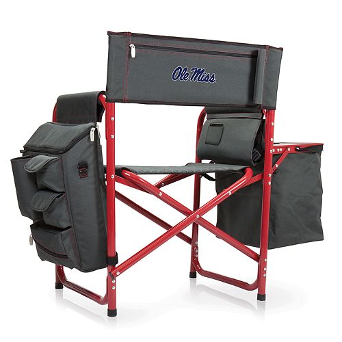 Picnic Time Ole Miss Rebels Fusion Backpack Chair with Cooler