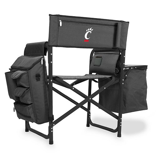 Picnic Time Cincinnati Bearcats Fusion Backpack Chair with Cooler