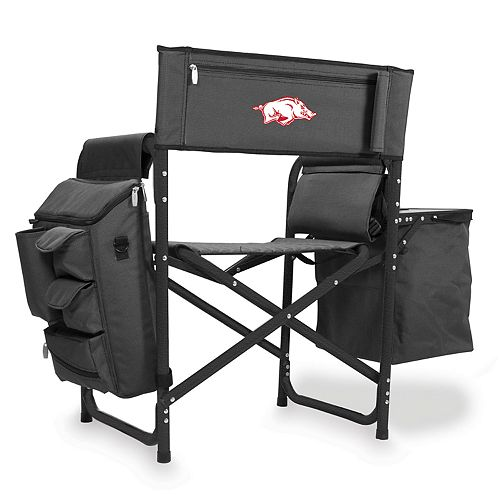 Picnic Time Arkansas Razorbacks Fusion Backpack Chair with Cooler