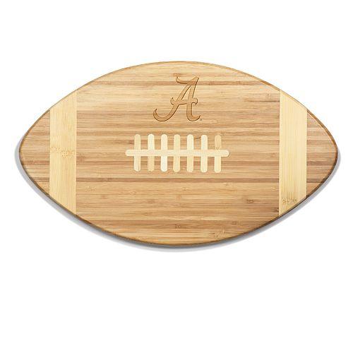 Alabama Crimson Tide Touchdown Football Cutting Board Serving Tray