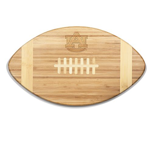 Auburn Tigers Touchdown Football Cutting Board Serving Tray