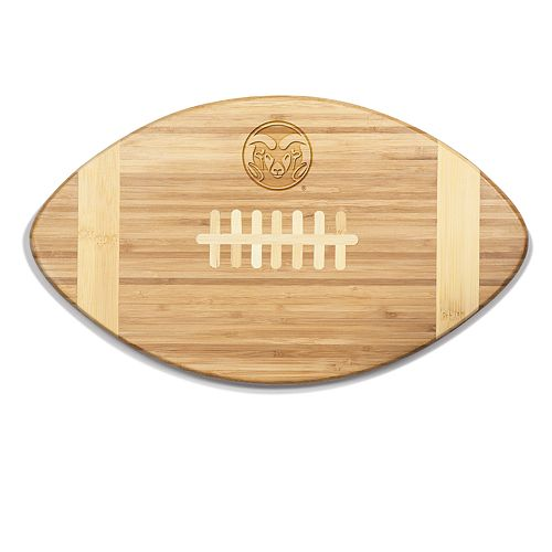 Colorado State Rams Touchdown Football Cutting Board Serving Tray