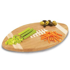 Iowa Hawkeyes Touchdown Football Cutting Board Serving Tray
