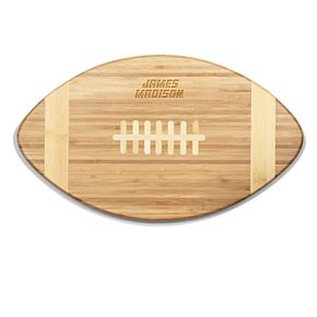 James Madison Dukes Touchdown Football Cutting Board Serving Tray