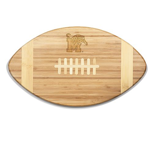 Memphis Tigers Touchdown Football Cutting Board Serving Tray