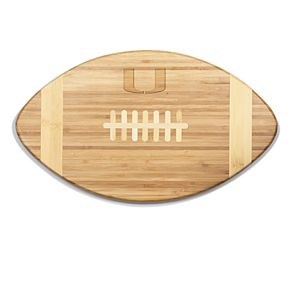 Miami Hurricanes Touchdown Football Cutting Board Serving Tray