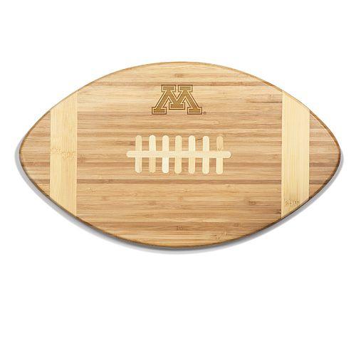 Minnesota Golden Gophers Touchdown Football Cutting Board Serving Tray