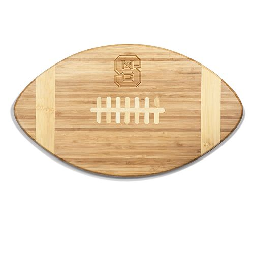 North Carolina State Wolfpack Touchdown Football Cutting Board Serving Tray