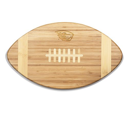 Oregon State Beavers Touchdown Football Cutting Board Serving Tray