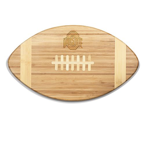 Ohio State Buckeyes Touchdown Football Cutting Board Serving Tray