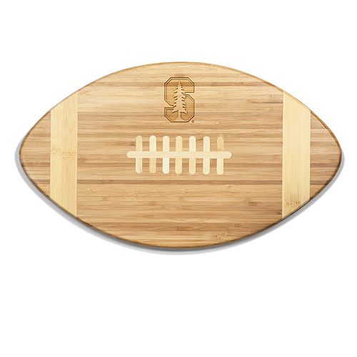 Stanford Cardinal Touchdown Football Cutting Board Serving Tray