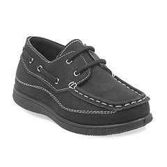 Josmo Boys' Slip On Boat Shoes