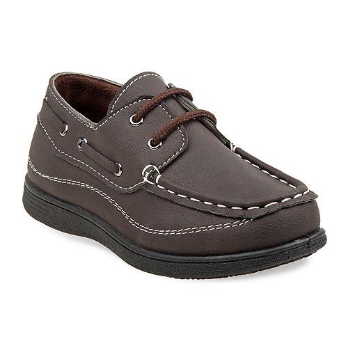 Josmo Boys' Slip On Boat Shoes