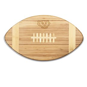 Wisconsin Badgers Touchdown Football Cutting Board Serving Tray