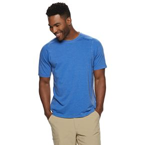 Men's Hi-Tec DRI-TEC Modern-Fit French Terry Performance Crewneck Tee
