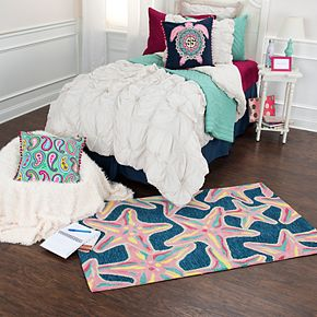Simply Southern Star Fish Rug