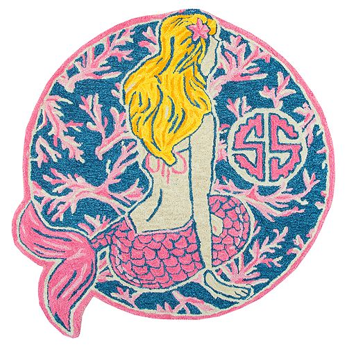Simply Southern Mermaid Rug