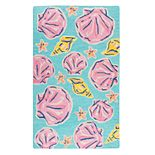 Simply Southern Sea Shells Area Rug