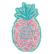 Simply Southern Pineapple Round Area Rug