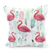 Jordan Manufacturing Flamingo Throw Pillow
