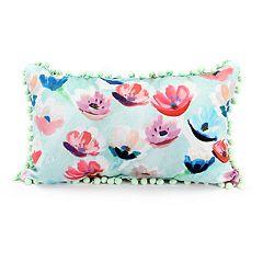 Jordan Manufacturing Spring Flowers Throw Pillow