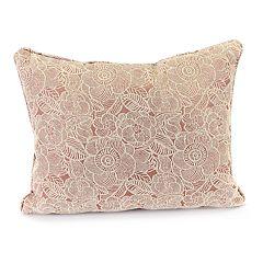 Jordan Manufacturing Chenille Jacquard Throw Pillow
