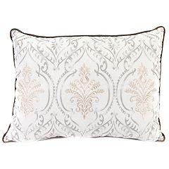 Jordan Manufacturing Embroidered Print Throw Pillow