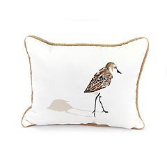 Jordan Manufacturing Sandpiper Throw Pillow