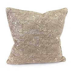 Jordan Manufacturing Chenille Jacquard Throw Pillow