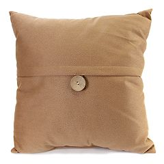 Jordan Manufacturing Button Throw Pillow