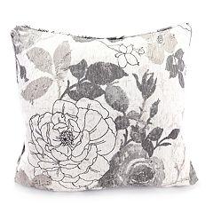 Jordan Manufacturing Textured Chenille Throw Pillow
