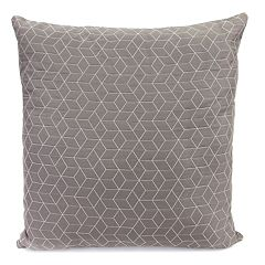 Jordan Manufacturing Textured Suede Throw Pillow